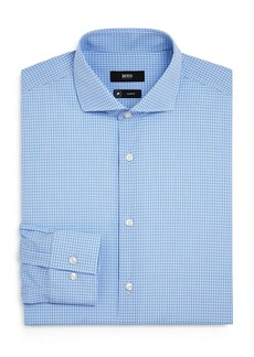 Hugo Boss BOSS Jason Checked Slim-Fit Dress Shirt