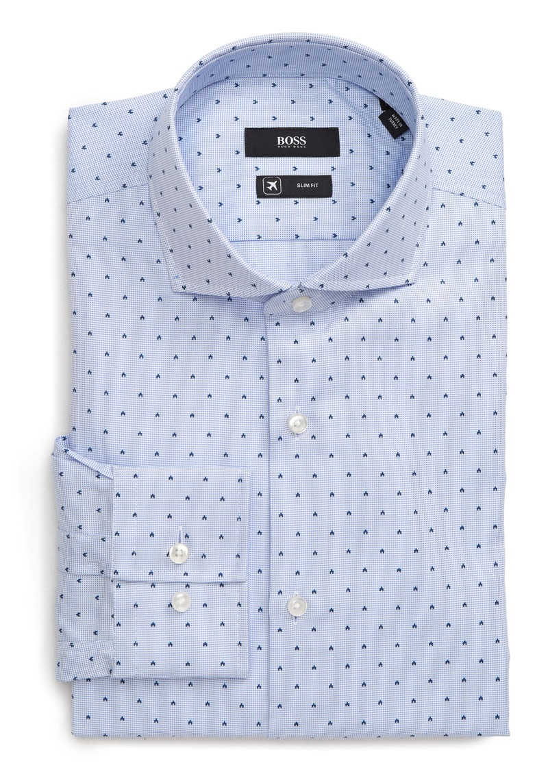Hugo Boss BOSS Jason Slim Fit Geometric Dress Shirt