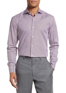 Hugo Boss BOSS Jason Slim Fit Houndstooth Dress Shirt