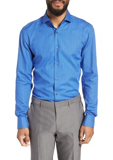 Hugo Boss BOSS Jason Slim Fit Plaid Dress Shirt