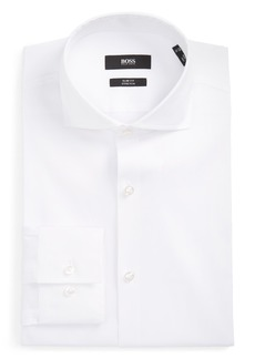 Hugo Boss BOSS 'Jason' Slim Fit Solid Stretch Dress Shirt