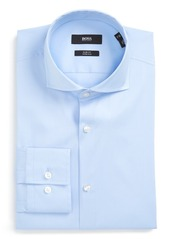 Hugo Boss BOSS 'Jason' Slim Fit Solid Stretch Dress Shirt