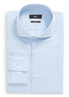 Hugo Boss BOSS Jason Slim Fit Stripe Dress Shirt