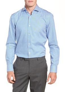 Hugo Boss BOSS Jason Trim Fit Check Dress Shirt