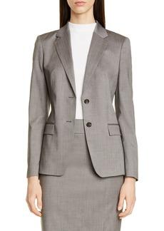 Hugo Boss BOSS Jasuala Wool Suit Jacket