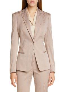 Hugo Boss BOSS Jaxtiny Woodgrain Suit Jacket