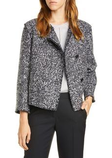 Hugo Boss BOSS Jeljana Tweed Short Jacket (Regular & Petite)