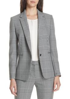 Hugo Boss BOSS Jemaromina Glen Plaid Suit Jacket