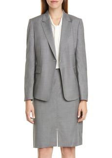 Hugo Boss BOSS Jeniver Wool Suit Jacket
