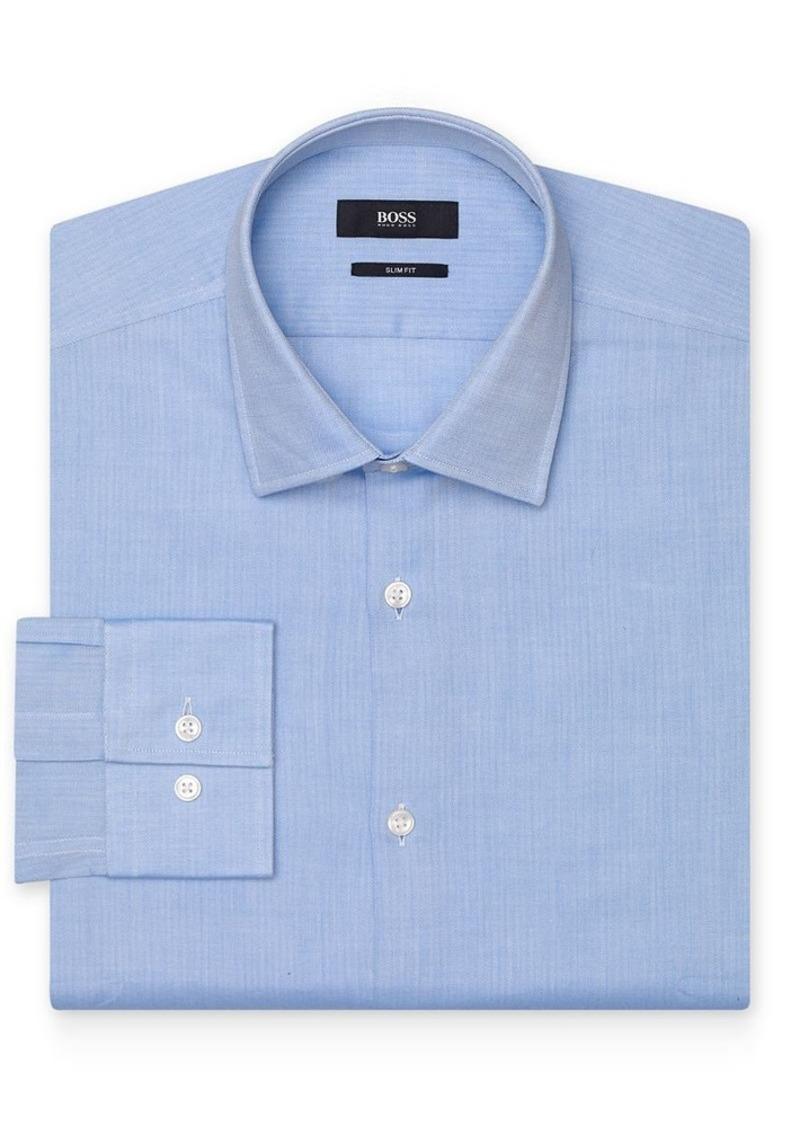 Hugo boss boss jenno dress shirt slim fit dress shirts for Hugo boss slim fit dress shirt