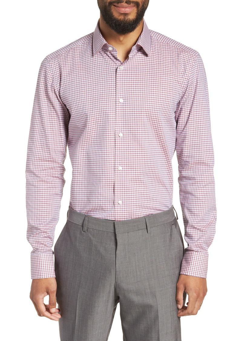907c68a6 On Sale today! Hugo Boss BOSS Jenno Slim Fit Check Dress Shirt