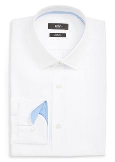 Hugo Boss BOSS Jesse Slim Fit Easy Iron Solid Dress Shirt