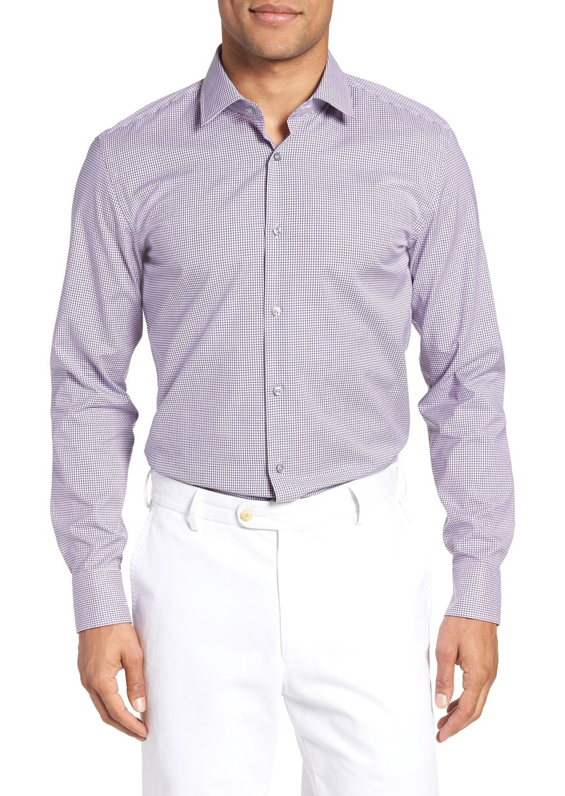 41b09ca2 Hugo Boss BOSS Jenno Slim Fit Grid Dress Shirt Now $62.49