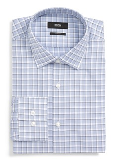 Hugo Boss BOSS Jenno Slim Fit Plaid Dress Shirt