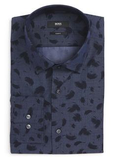 Hugo Boss BOSS Jenno Slim Fit Print Dress Shirt