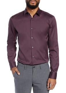 Hugo Boss BOSS Jenno Slim Fit Stretch Solid Dress Shirt
