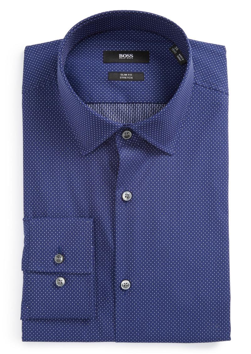 ff80cbec On Sale today! Hugo Boss BOSS Jenno Slim Fit Stretch Stripe Dress Shirt