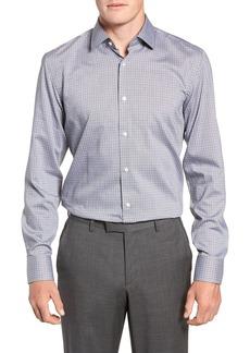 Hugo Boss BOSS Jenno Trim Fit Check Dress Shirt
