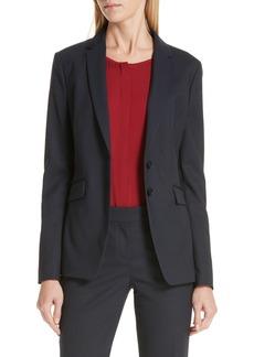 Hugo Boss BOSS Jeriba Minidessin Stretch Wool Suit Jacket (Regular & Petite)