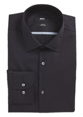 ab3e69583 Hugo Boss BOSS Jerris Slim Fit Easy Iron Solid Dress Shirt | Dress ...