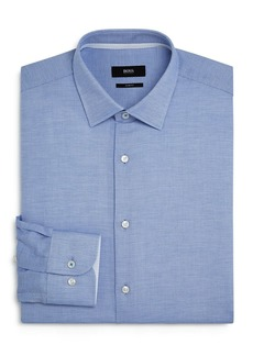 Hugo Boss BOSS Jesse Dotted Slim-Fit Dress Shirt