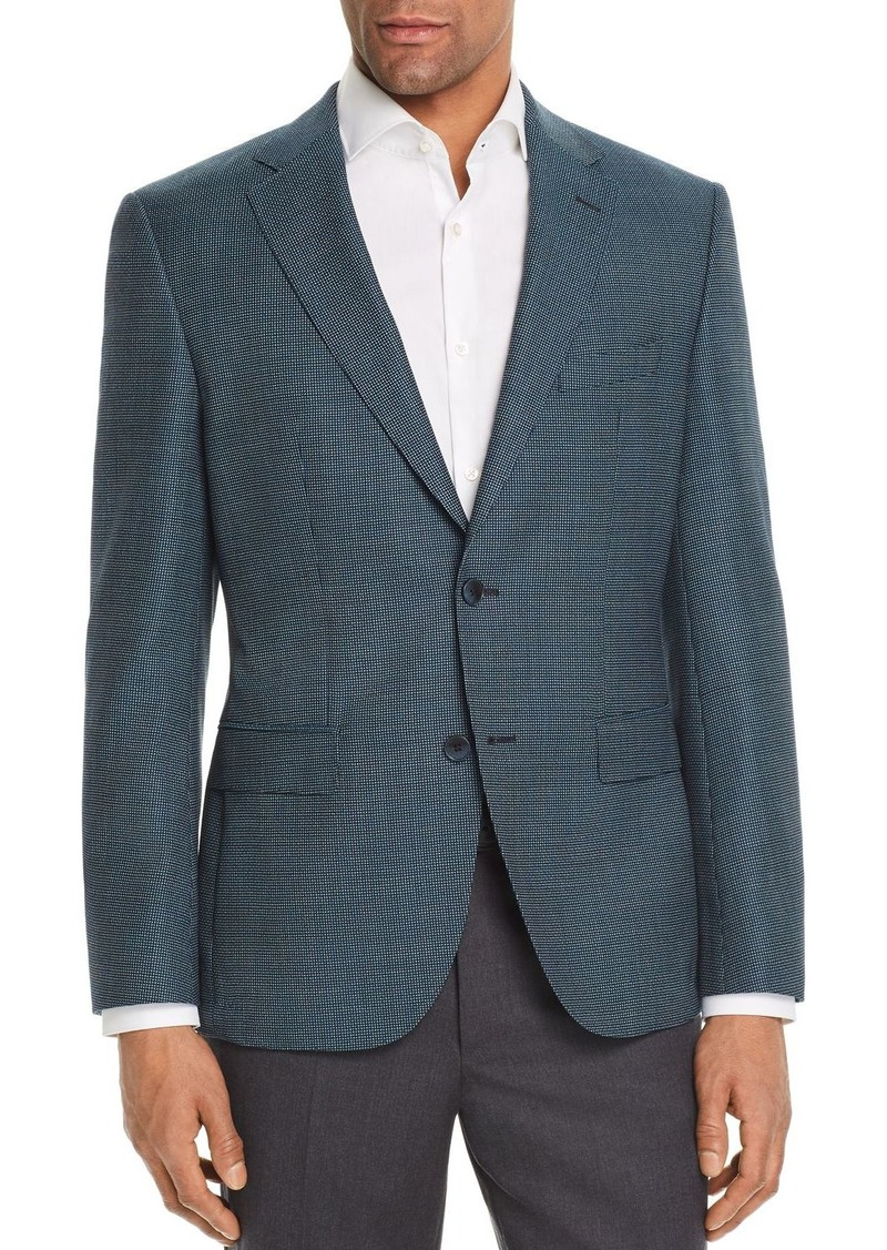860e8221c Hugo Boss BOSS Jester Regular Fit Elbow Patch Check Sport Coat