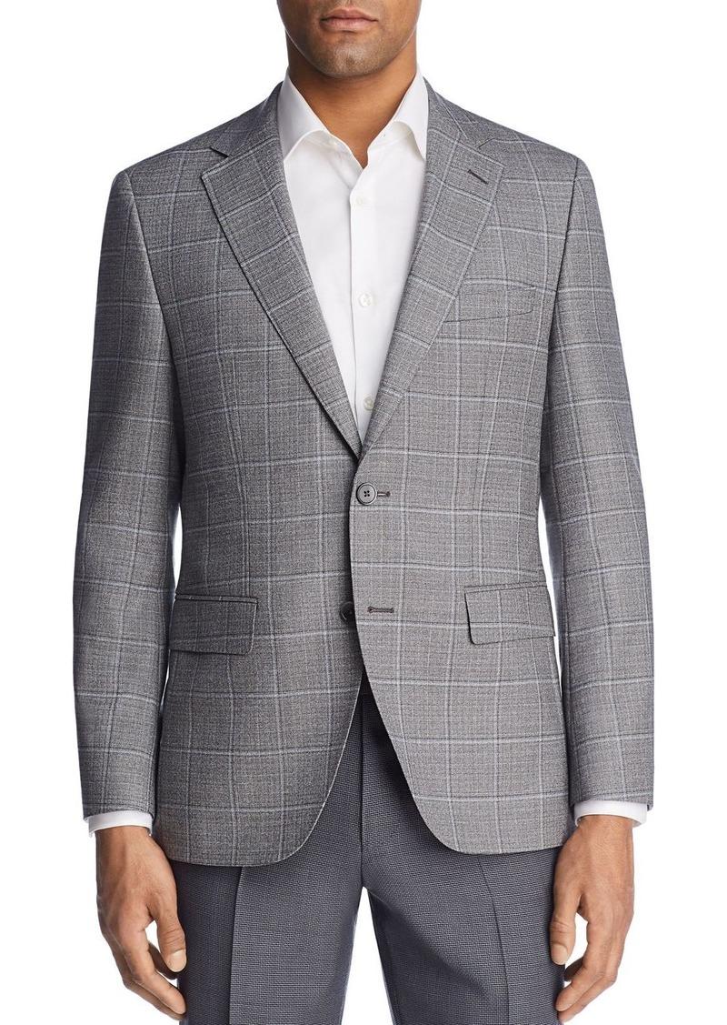 8fbda997b04 Hugo Boss BOSS Jewels Regular Fit Windowpane Sport Coat
