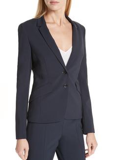 Hugo Boss BOSS Jiletara Stretch Wool Jacket