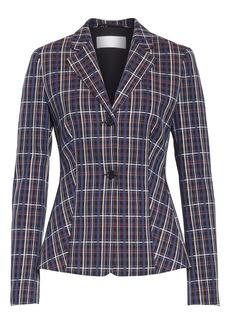 Hugo Boss BOSS Jitania Check Ponte Suit Jacket