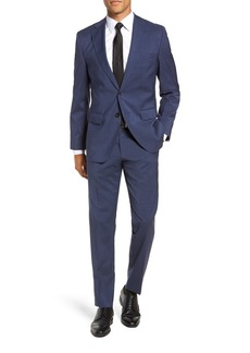 Hugo Boss BOSS Johnstons/Lenon Classic Fit Houndstooth Wool Suit