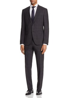 Hugo Boss BOSS Johnstons/Lenon Regular Fit Plaid with Windowpane Suit - 100% Exclusive