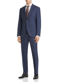 Hugo Boss BOSS Johnstons/Lenon Regular Fit Textured Micro Check Suit