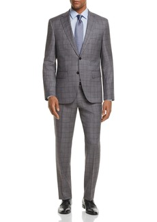 Hugo Boss BOSS Johnstons/Lenon Regular Fit Windowpane Suit