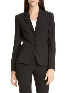 Hugo Boss BOSS Jonina Stretch Wool Suit Jacket (Nordstrom Exclusive)