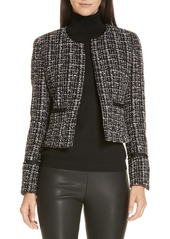 Hugo Boss BOSS Kalali Crop Tweed Jacket (Regular & Petite)