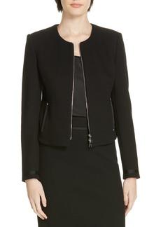 Hugo Boss BOSS Kemio Textured Jersey Suit Jacket