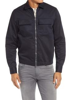 Hugo Boss BOSS Lawson Zip-Up Twill Jacket