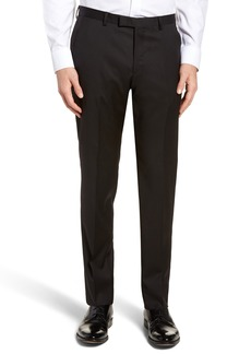 Hugo Boss BOSS Lenon CYL Flat Front Solid Wool Trousers