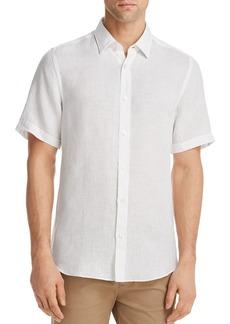 Hugo Boss BOSS Luka Linen Regular Fit Button-Down Shirt