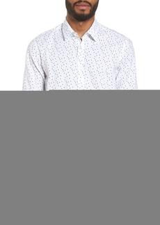 Hugo Boss BOSS Luka Regular Fit Print Sport Shirt