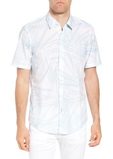 Hugo Boss BOSS Luka Regular Fit Short Sleeve Sport Shirt