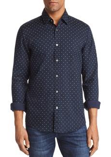Hugo Boss BOSS Lukas Dobby Dot Regular Fit Button-Down Shirt