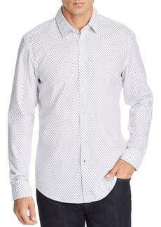 Hugo Boss BOSS Lukas Geometric-Print Regular Fit Shirt