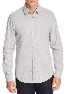 Hugo Boss BOSS Lukas Micro-Floral-Print Regular Fit Shirt