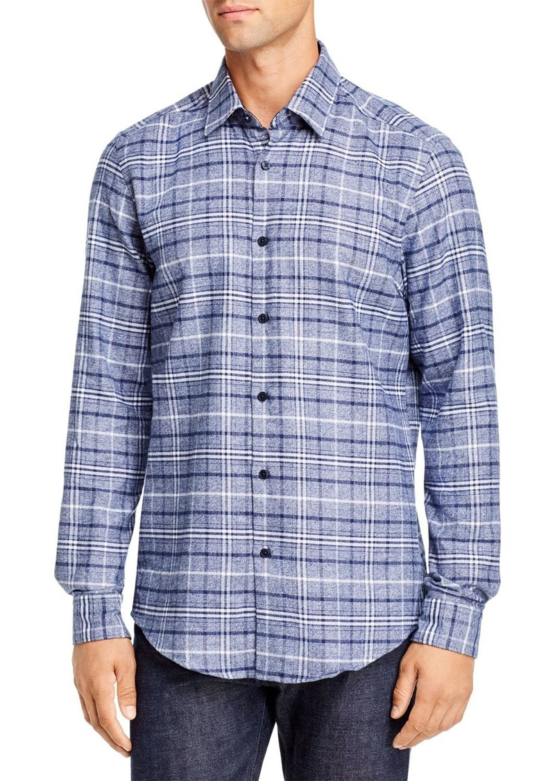 Hugo Boss BOSS Lukas Regular Fit Plaid Shirt