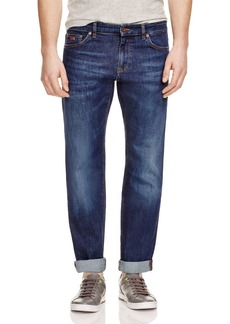 Hugo Boss BOSS Maine Stretch Straight Fit Jeans in Indigo
