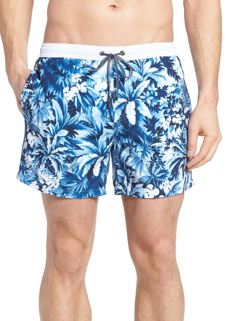 8eea3d8e0f Hugo Boss BOSS Mandarinfish Floral Swim Trunks Now $41.98