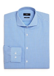 Hugo Boss BOSS Mark Dobby-Check Regular Fit Dress Shirt