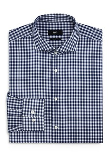 Hugo Boss BOSS Mark Gingham Regular-Fit Dress Shirt