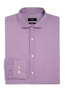 Hugo Boss BOSS Mark Graph Check Regular Fit Dress Shirt